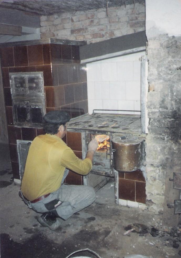 Fireplace Trap Door
